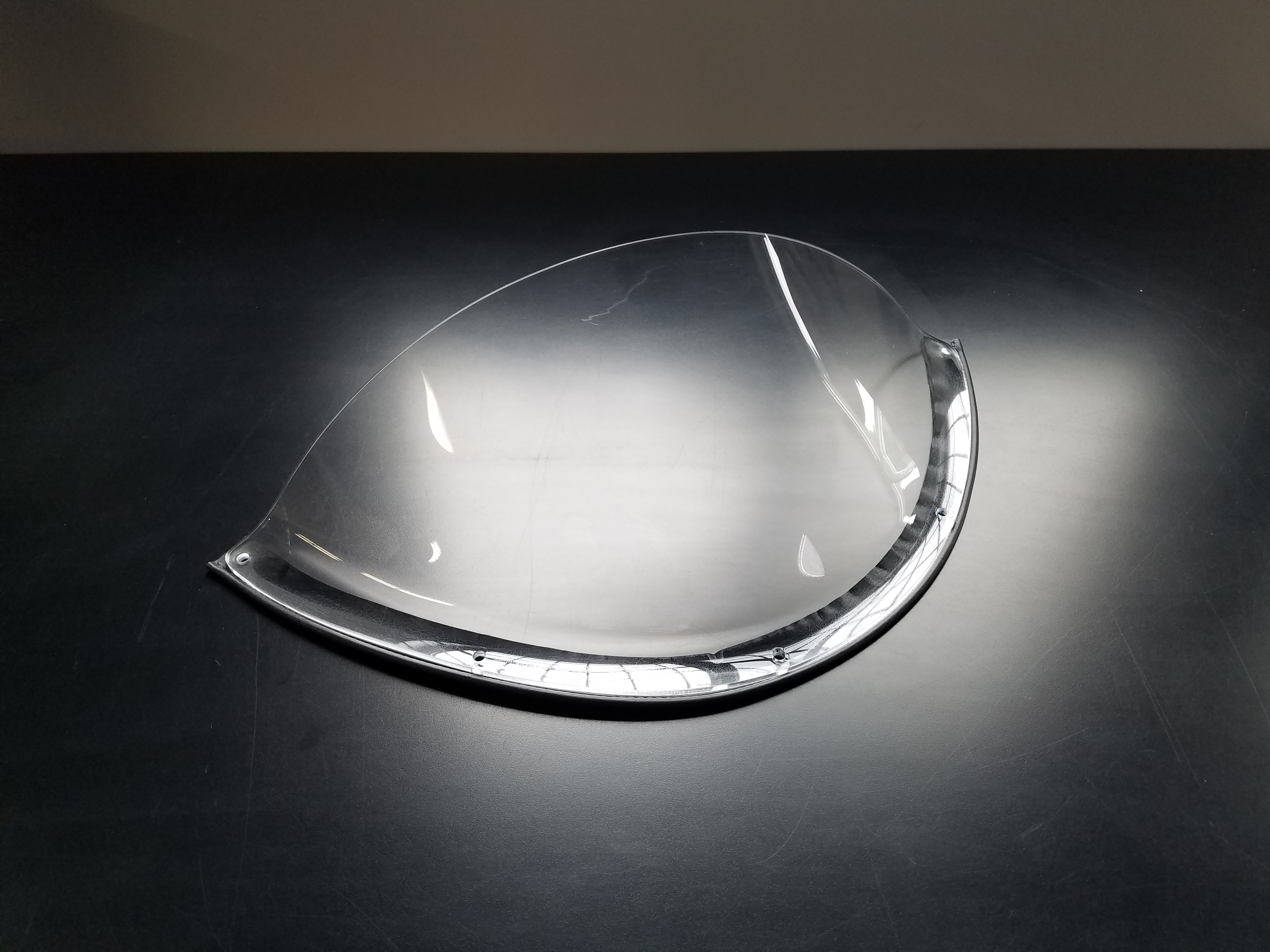 Spyder Plexi Single Driver Windscreen