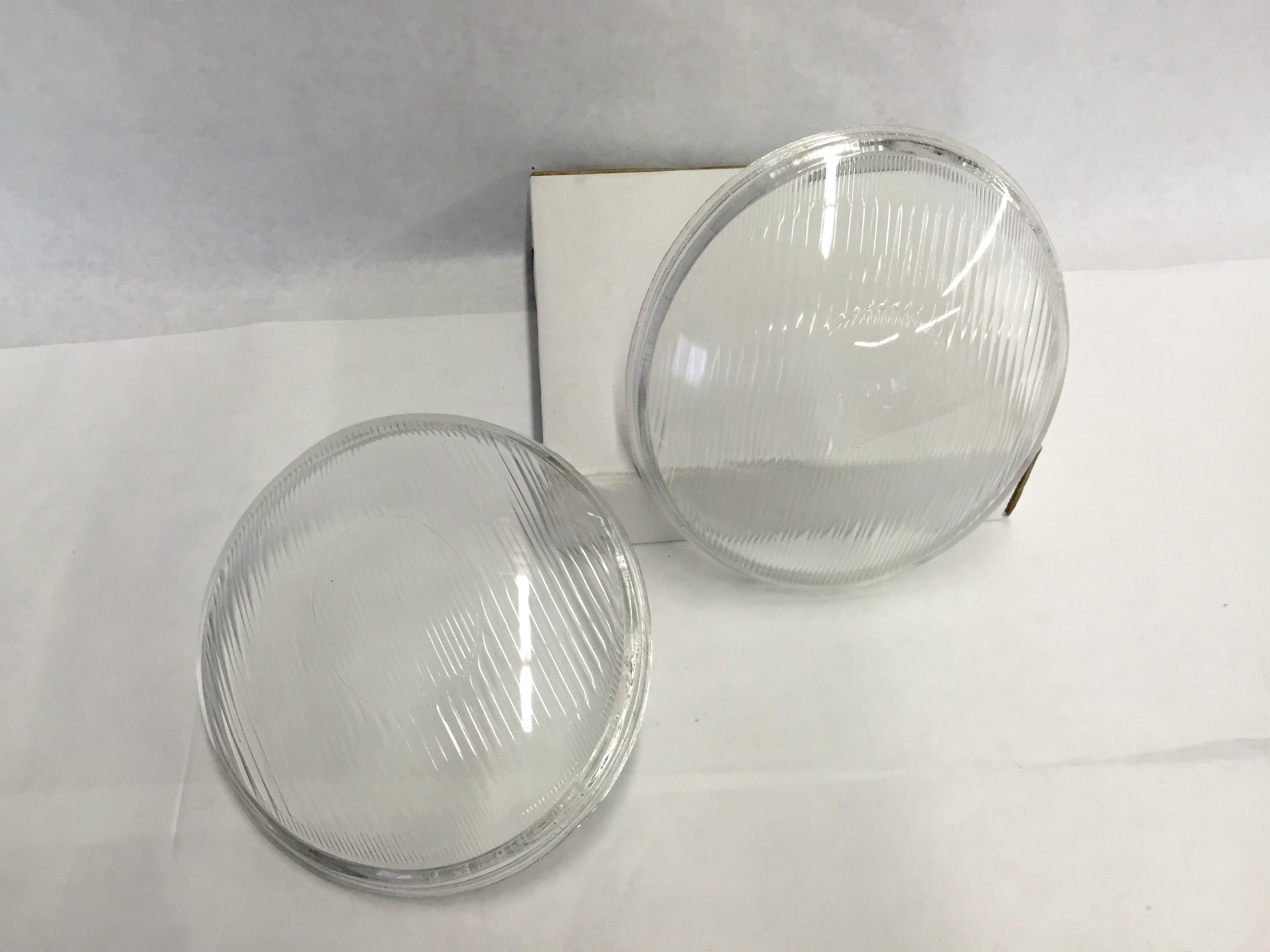 European Headlight Lens - Vintage Style