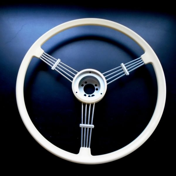 Black or Ivory Banjo Steering Wheel