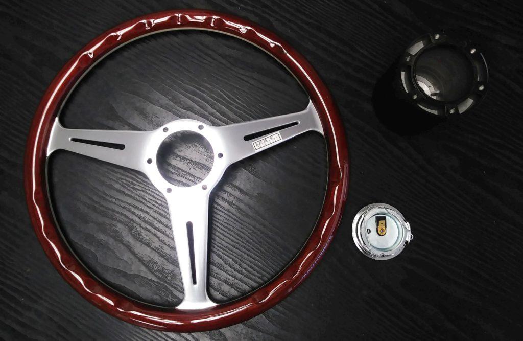 Steering Wheel Kit Wood